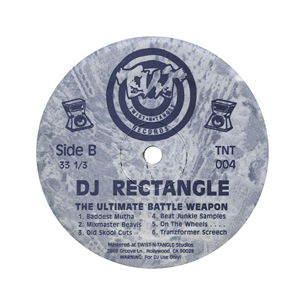 <!--019000101012319-->DJ Rectangle - 'Ultimate Ultimate Battle Weapon Vol. 1' [(Black) Vinyl [2LP]]