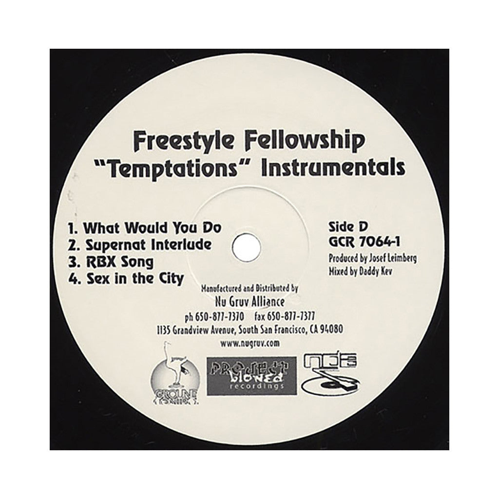 <!--020020108003385-->Freestyle Fellowship - 'Temptations (Instrumentals)' [(Black) Vinyl [2LP]]