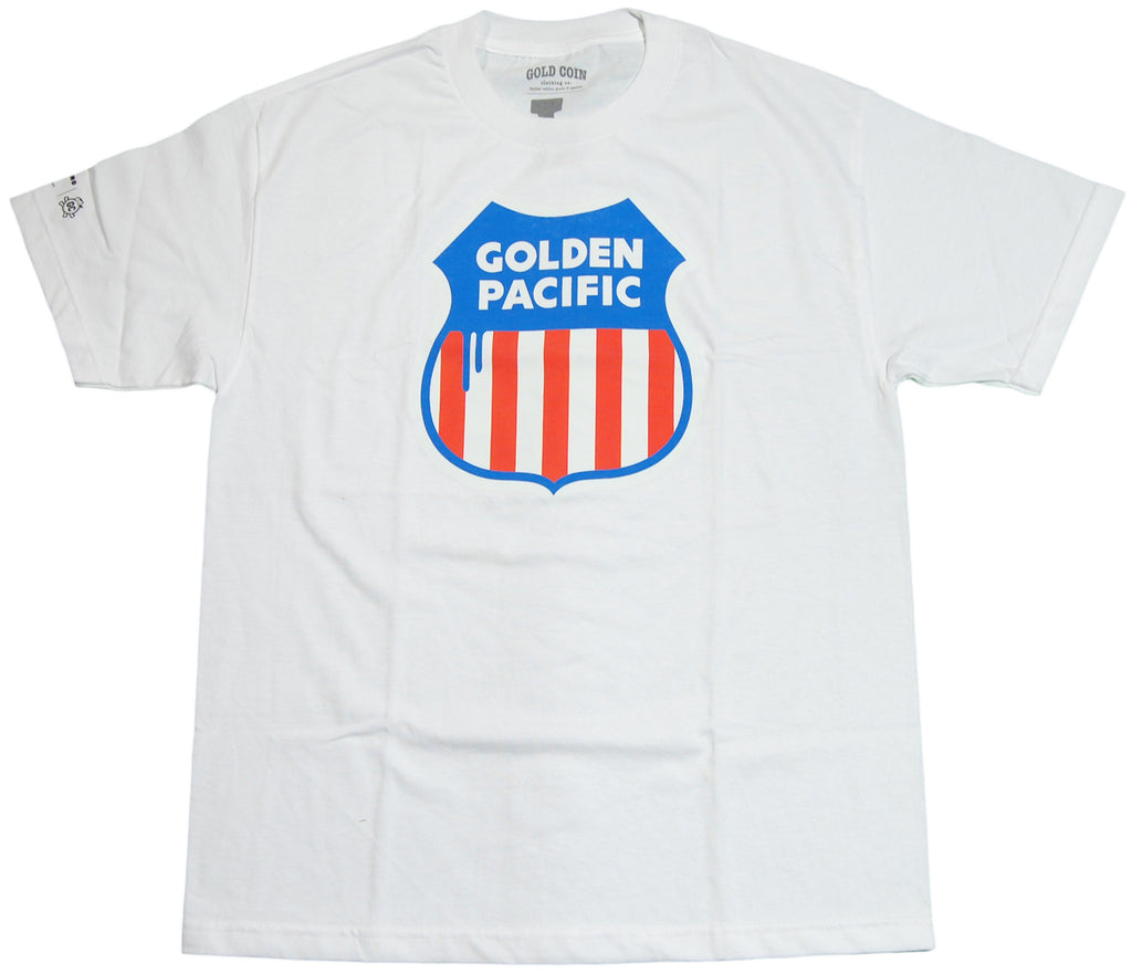 <!--2011083036-->Gold Coin - 'Golden Pacific' [(White) T-Shirt]