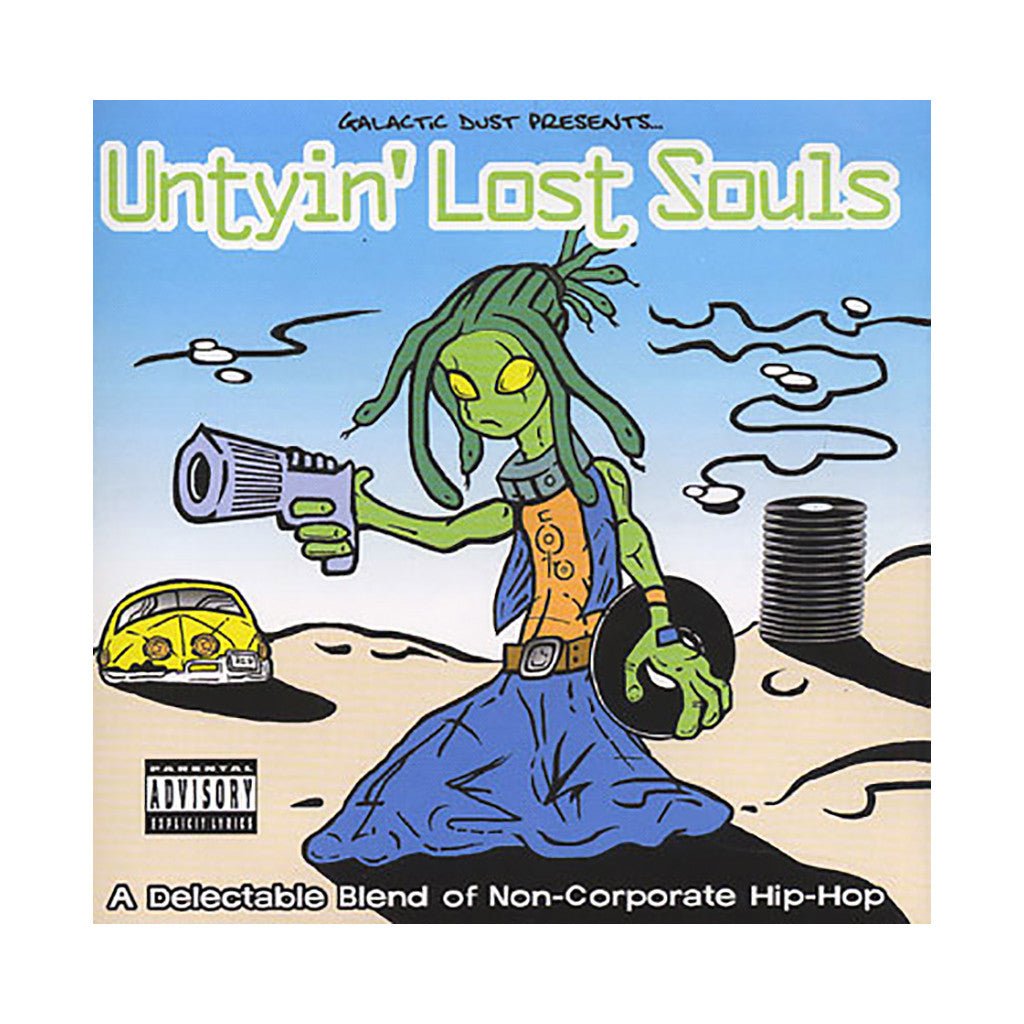 Various Artists - 'Untyin' Lost Souls: A Delectable Blend Of Non-Corporate Hip Hop' [CD]