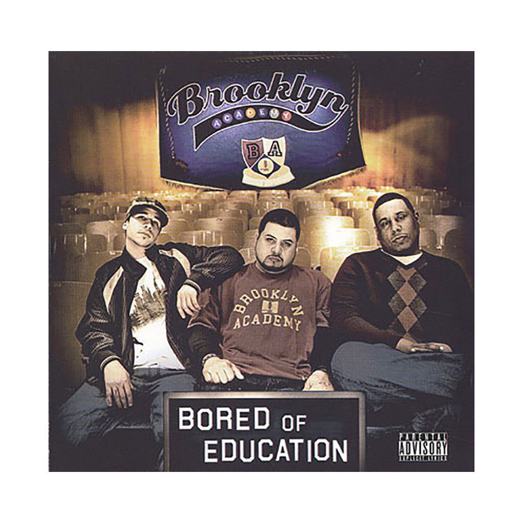 Brooklyn Academy - 'Bored Of Education' [CD]