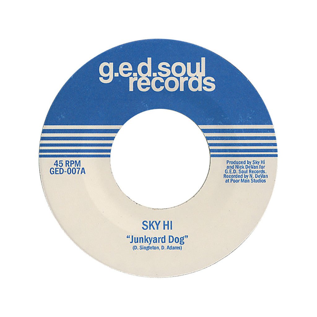 "Sky Hi - 'Junkyard Dog/ Voltron's Dance Party' [(Black) 7"" Vinyl Single]"