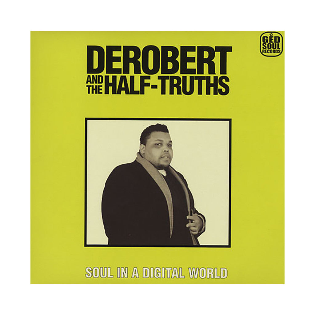 DeRobert & The Half-Truths - 'Soul In A Digital World' [(Marble) Vinyl LP]