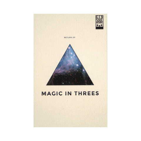 "[""Magic In Threes - 'The Return Of...' [(White) Cassette Tape]""]"