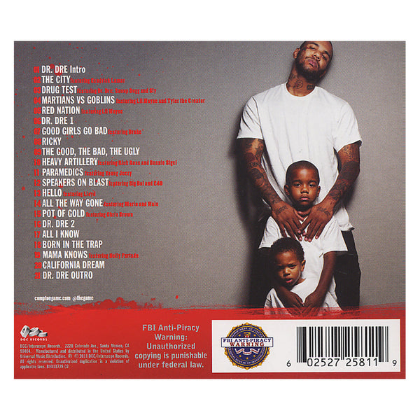 The Game - The R.E.D. Album - CD - buy, release date ...