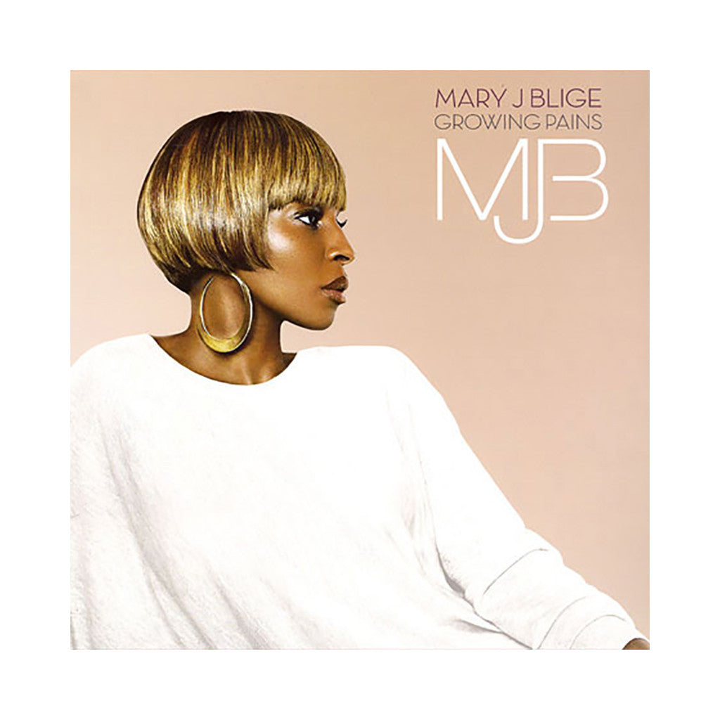 <!--120071218002277-->Mary J. Blige - 'Growing Pains' [CD]