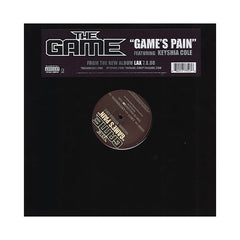 "<!--020080708014258-->The Game - 'Game's Pain' [(Black) 12"" Vinyl Single]"