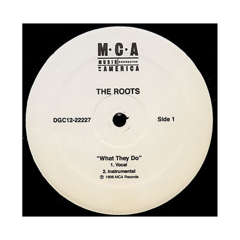 "The Roots - 'What They Do/ Respond React' [(Black) 12"""" Vinyl Single]"