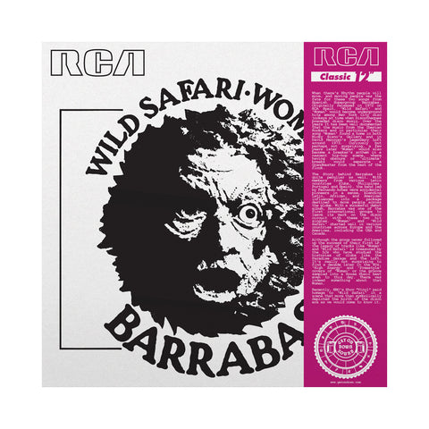 "Barrabas - 'Wild Safari/ Woman' [(Black) 12"" Vinyl Single]"