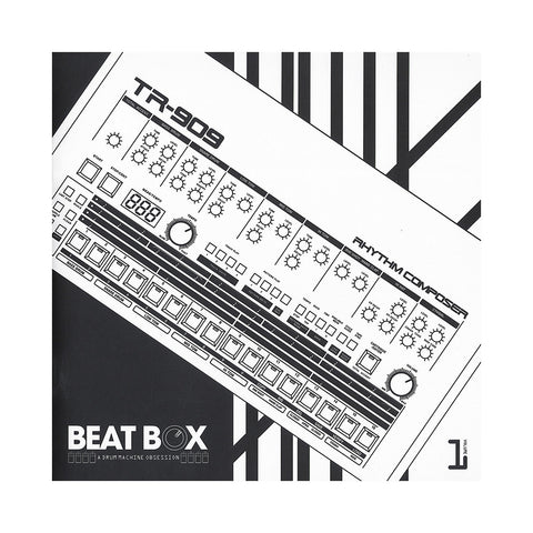 "Schoolly D & Joe Mansfield - 'Beat Box: A Drum Machine Obsession - TR-909' [(Clear & Orange) 7"" Vinyl Single [2x7""]]"