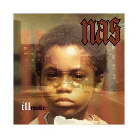 Nas - 'Illmatic (Deluxe Edition)' [(Black) Vinyl LP]