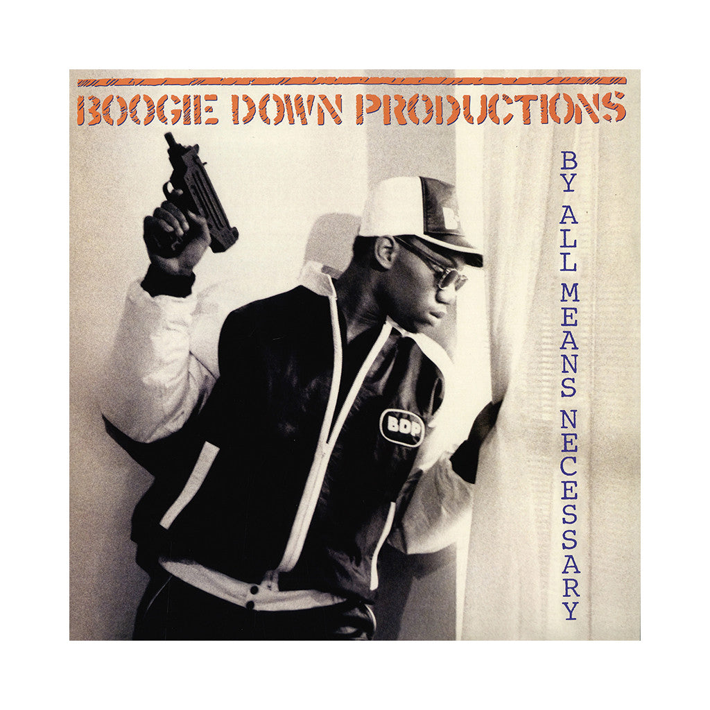 Boogie Down Productions - 'By All Means Necessary' [(Black) Vinyl LP]