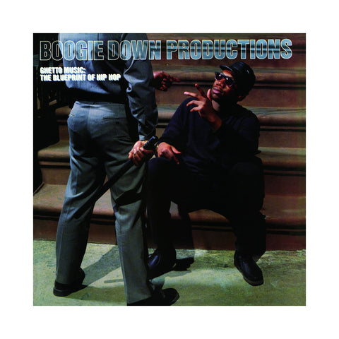 Boogie Down Productions - 'Ghetto Music: The Blueprint Of Hip Hop' [(Black) Vinyl LP]