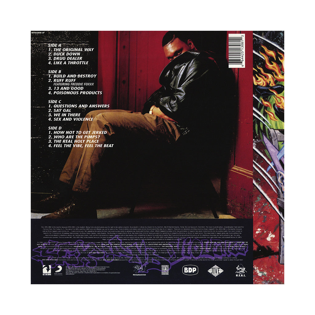 Boogie Down Productions - 'Sex And Violence' [(Black) Vinyl [2LP]]