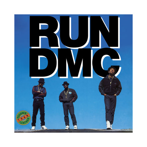 Run D.M.C. - 'Tougher Than Leather (Re-Issue)' [(Black) Vinyl LP]