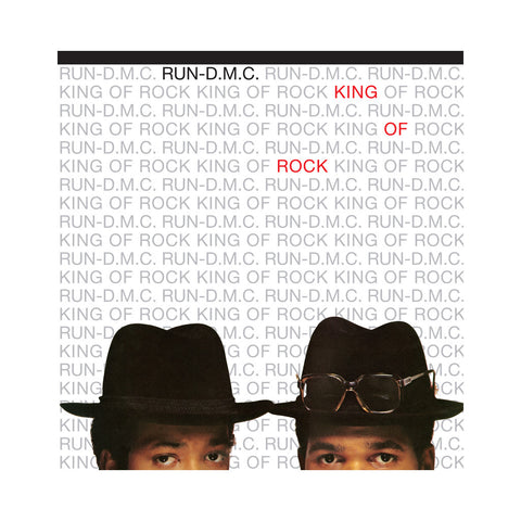 Run D.M.C. - 'King Of Rock (Domestic Edition)' [(Black) Vinyl LP]