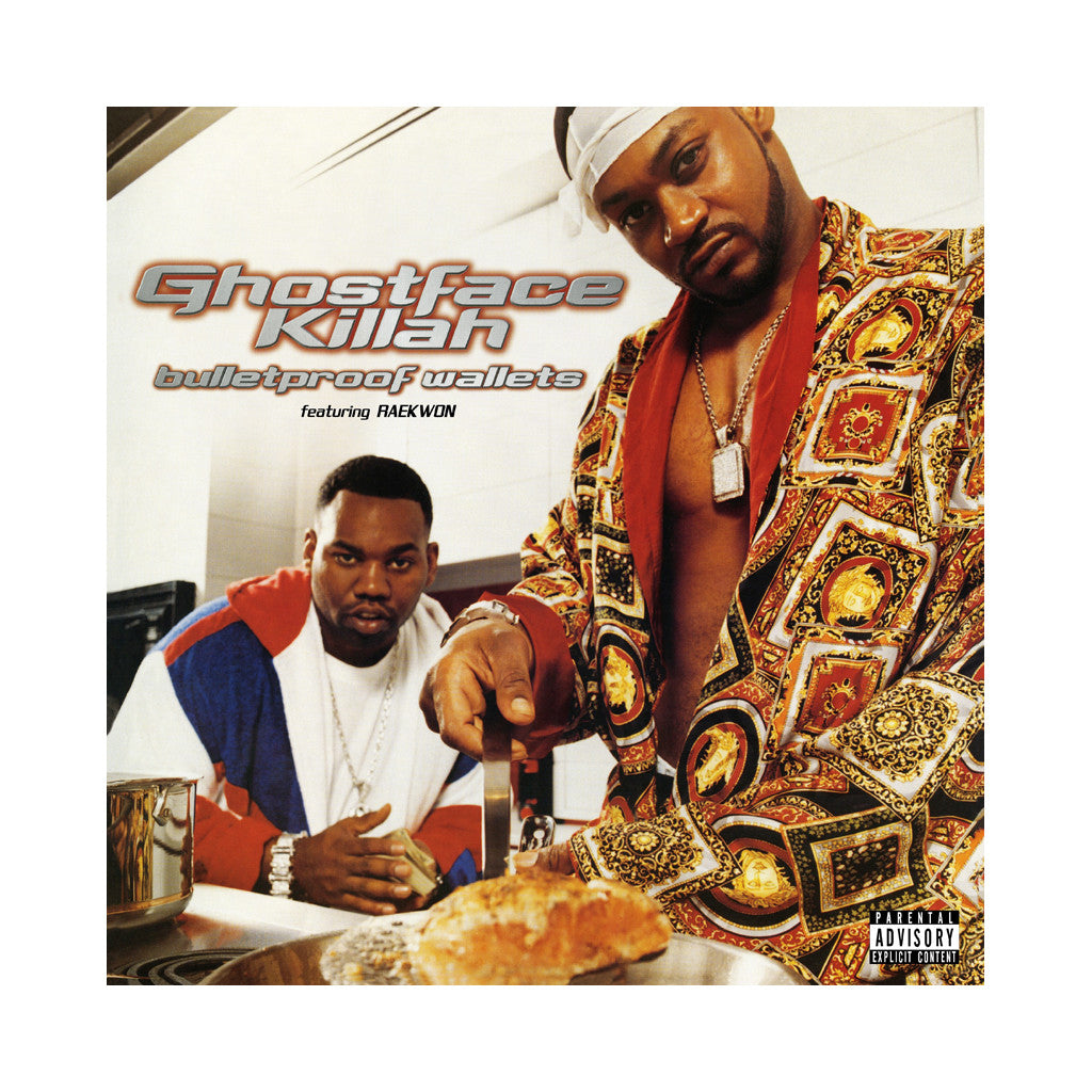Ghostface Killah - 'Bulletproof Wallets (Re-Issue)' [(Black) Vinyl [2LP]]