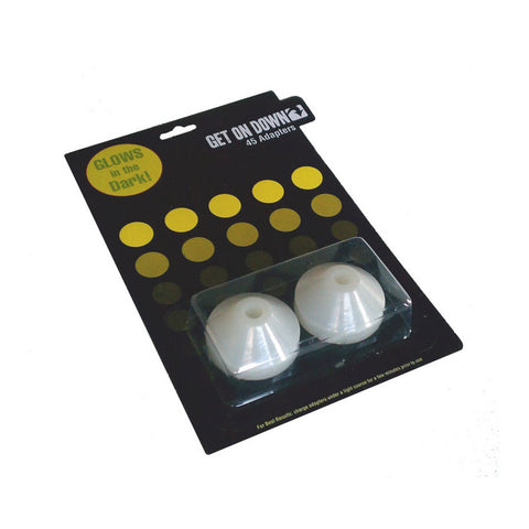 "[""Get On Down - 'Glow-In-The-Dark 45 Adapters' [45 Adapter]""]"