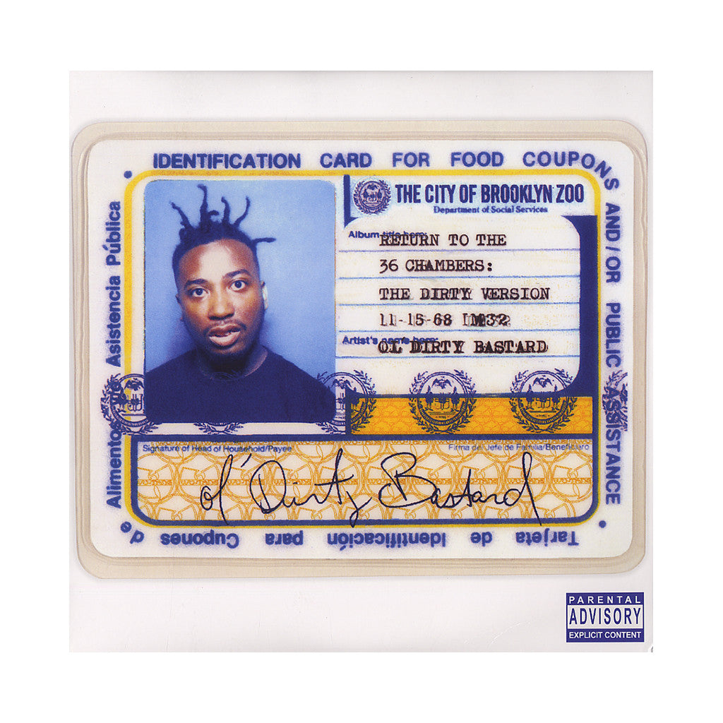 <!--120120703045609-->Ol' Dirty Bastard - 'Return To The 36 Chambers: The Dirty Version (Re-Issue)' [(Black) Vinyl [2LP]]