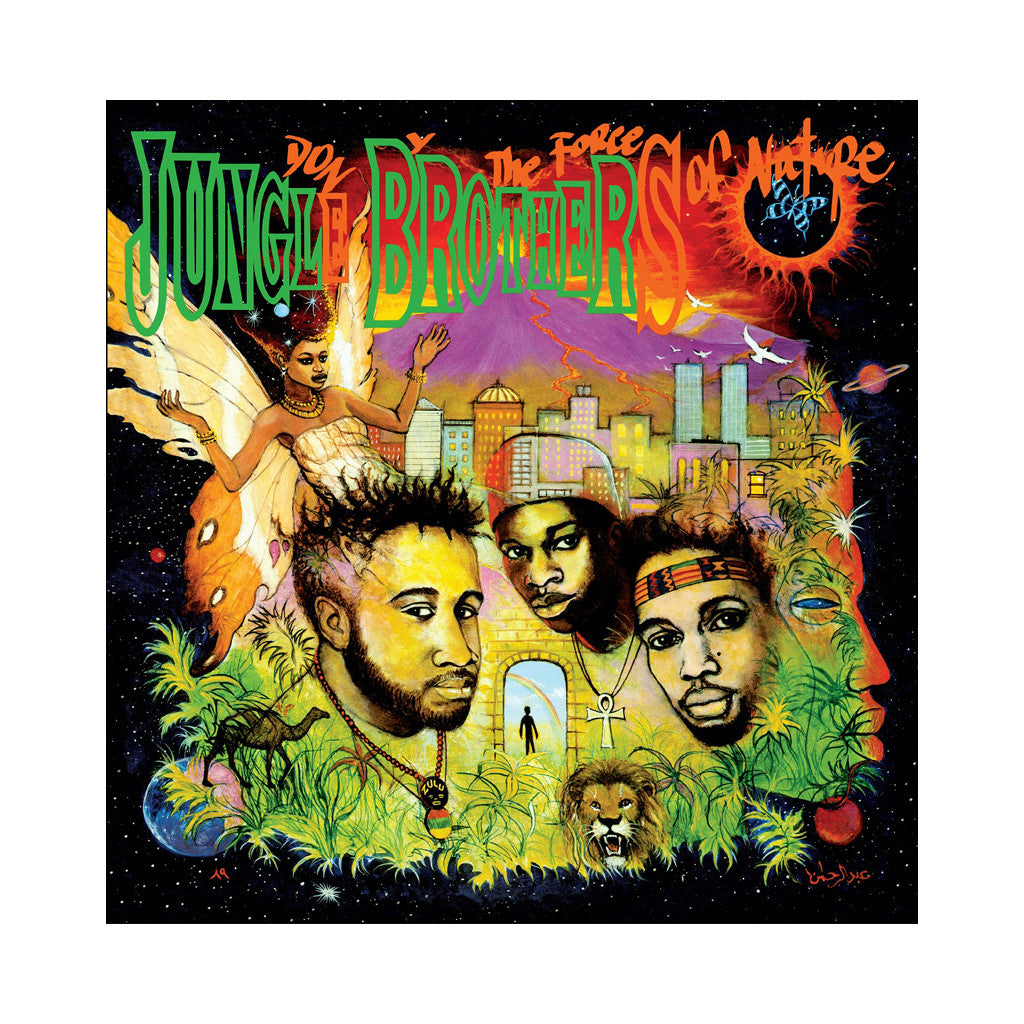 Jungle Brothers - 'Done By The Forces Of Nature (Re-Issue)' [(Black) Vinyl [2LP]]