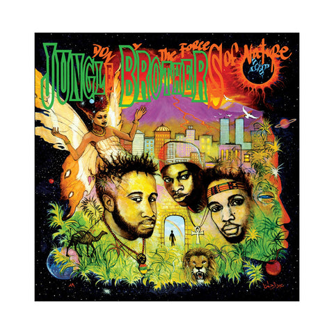 "[""Jungle Brothers - 'Done By The Forces Of Nature (Re-Issue)' [(Black) Vinyl [2LP]]""]"