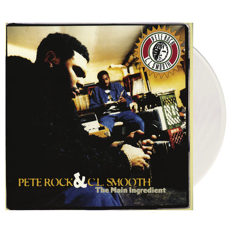 "[""Pete Rock & CL Smooth - 'The Main Ingredient' [(Clear) Vinyl [2LP]]""]"