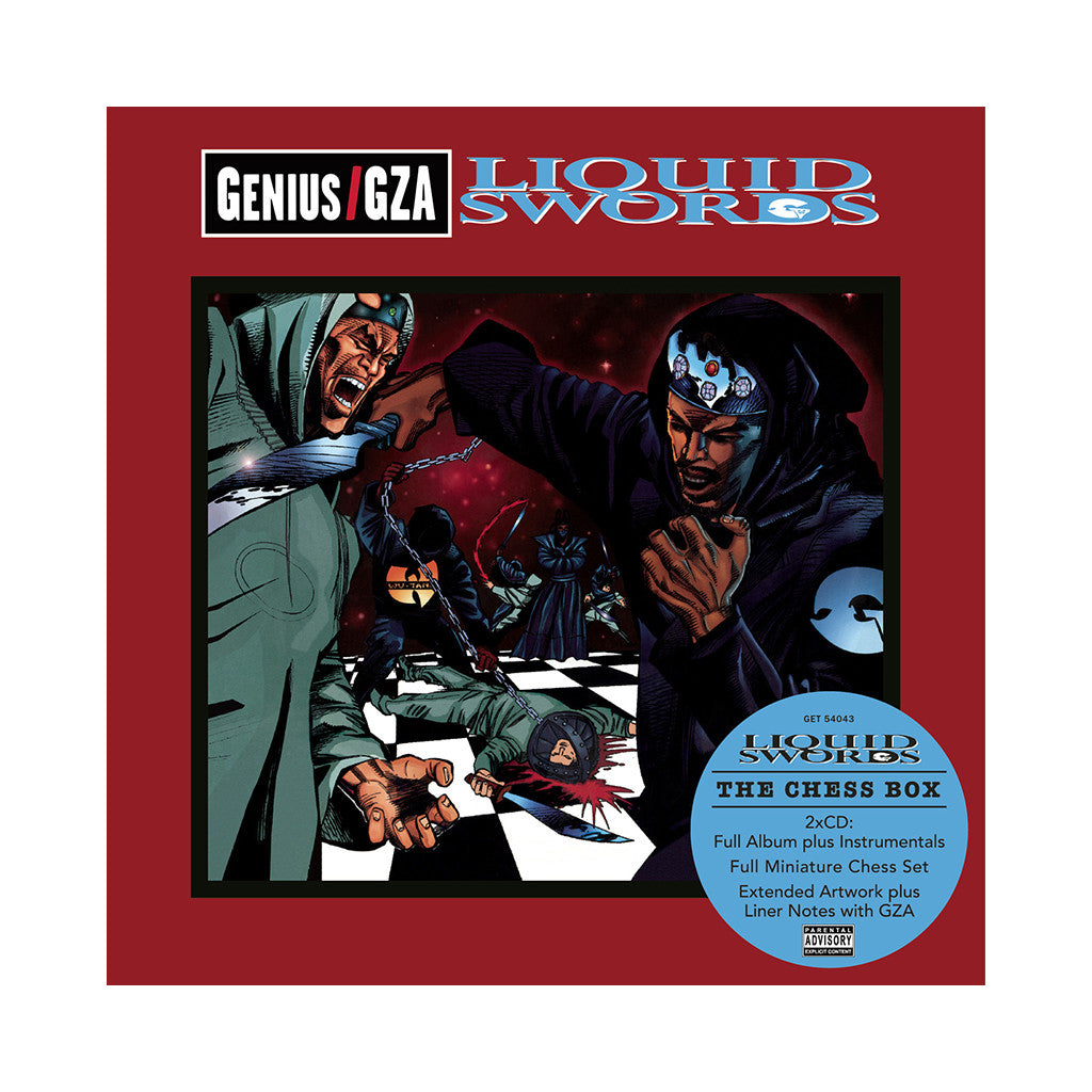 <!--2012072419-->Gza/ Genius - 'Liquid Swords: The Chess Box' [CD [2CD]]