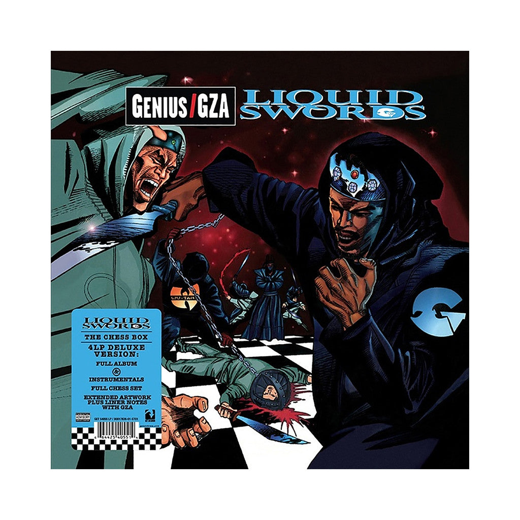 <!--020130420054334-->Gza/ Genius - 'Liquid Swords: The Chess Box' [(Black) Vinyl [4LP]]