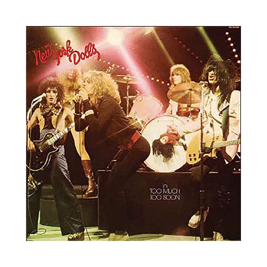 <!--2014020435-->New York Dolls - 'Too Much Too Soon' [(Pink) Vinyl LP]