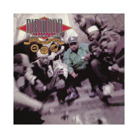 Diamond & The Psychotic Neurotics - 'Stunts, Blunts & Hip Hop (Re-Issue)' [(Black) Vinyl [2LP]]