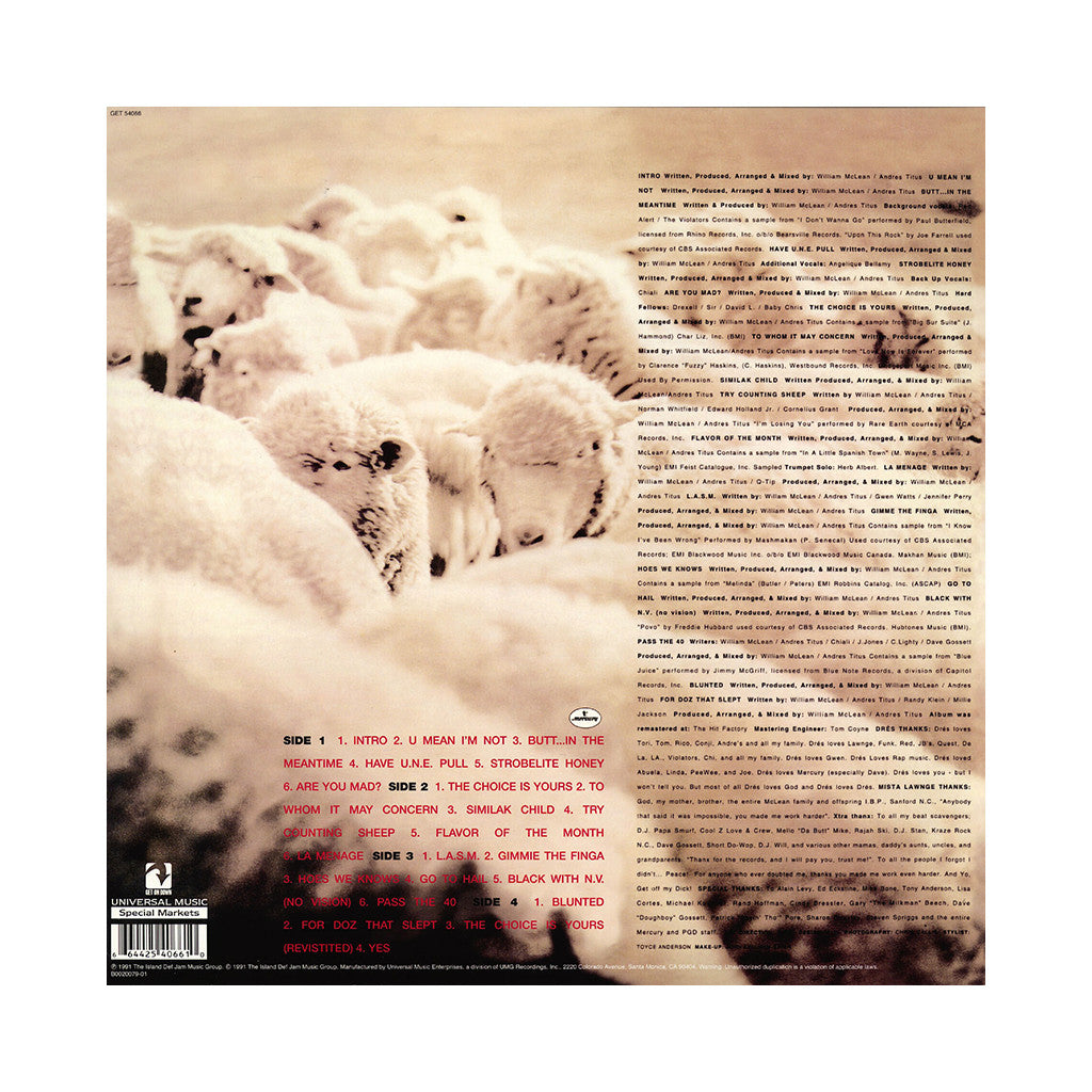 <!--120140304062383-->Black Sheep - 'A Wolf In Sheep's Clothing (Deluxe Edition)' [(Black) Vinyl [2LP]]