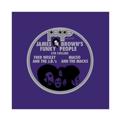 Various Artists - 'James Brown's Funky People Part 1' [(Black) Vinyl LP]