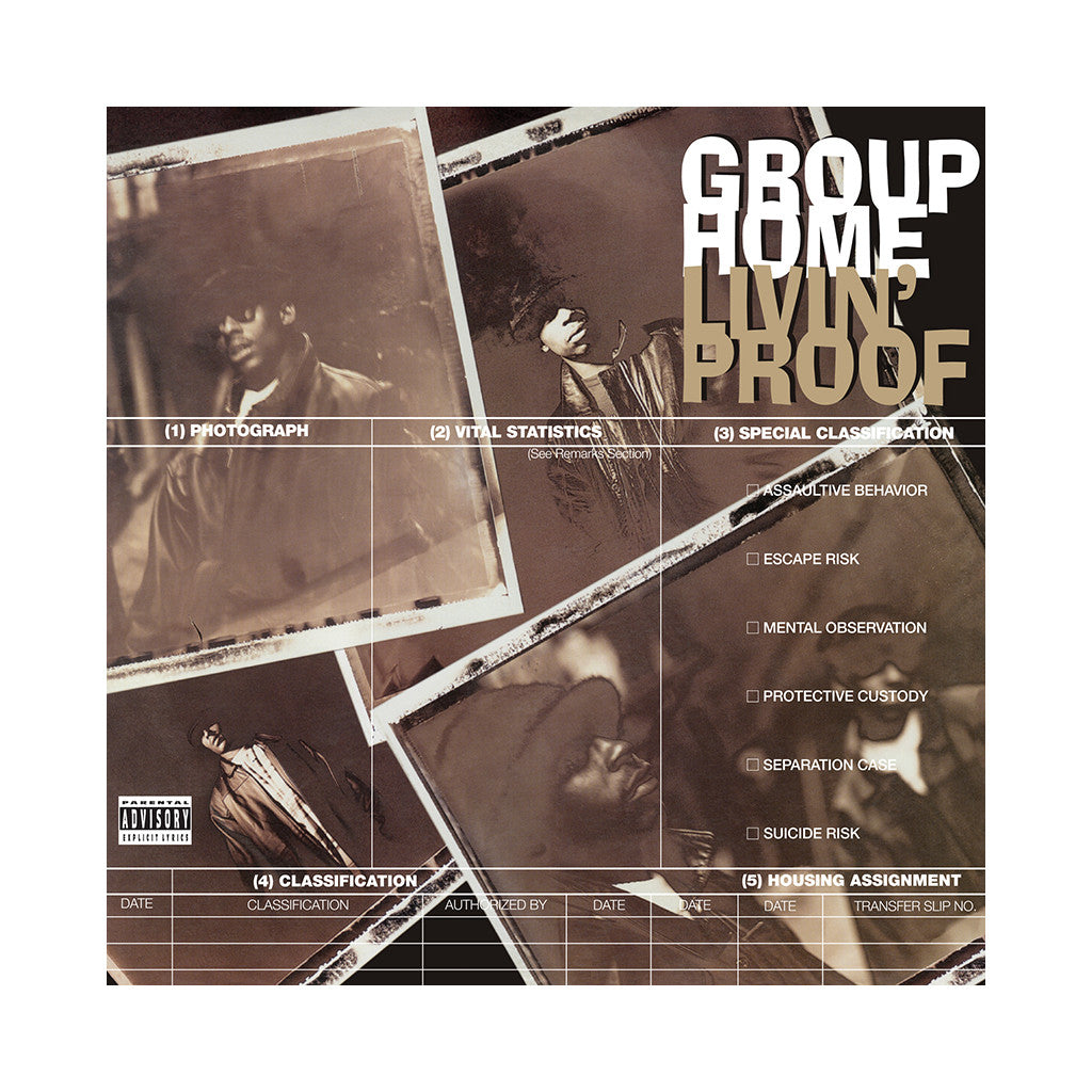 Group Home - 'Livin' Proof (Re-Issue)' [(Black) Vinyl [2LP]]