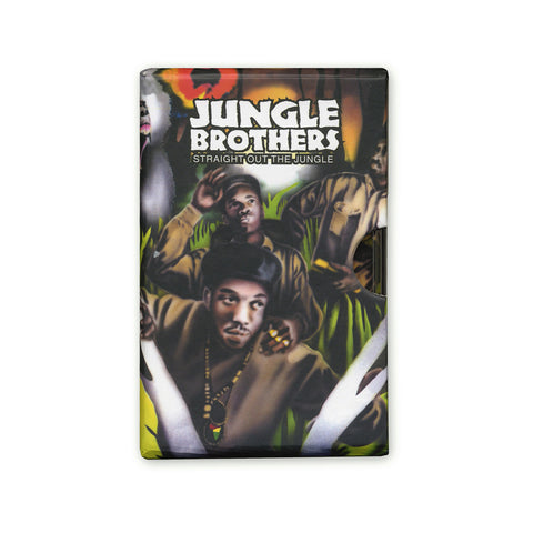 "[""Jungle Brothers - 'Straight Out The Jungle (Deluxe Bundle)' [(Red + Green) Cassette Tape [Double Cassette]]""]"