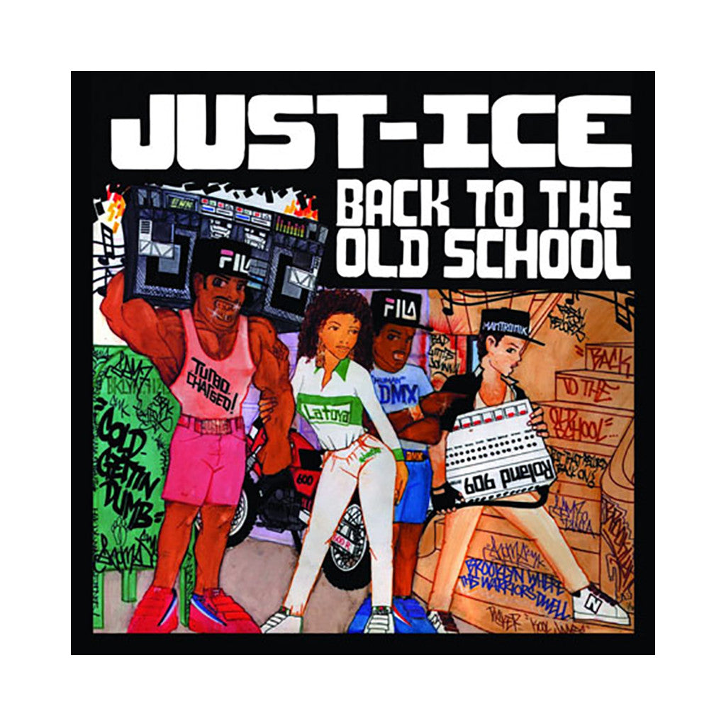 Just-Ice - 'Back To The Old School' [Game]