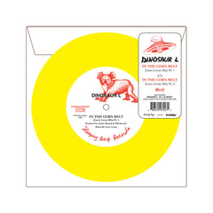 "Dinosaur L - 'In The Corn Belt (Larry Levan Mix) Pts. 1 & 2' [(Orange Marble) 7"" Vinyl Single]"