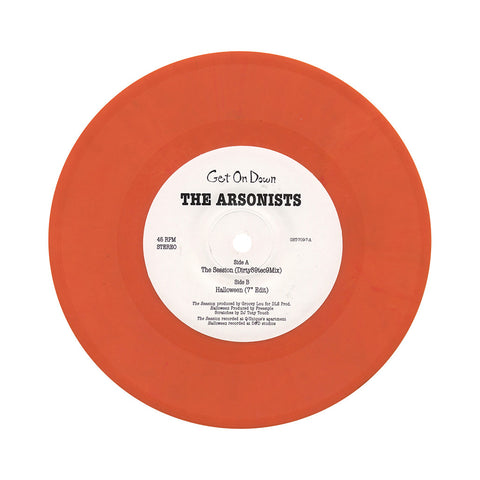 "[""Arsonists - 'The Session/ Halloween' [(Orange) 7\"" Vinyl Single]""]"