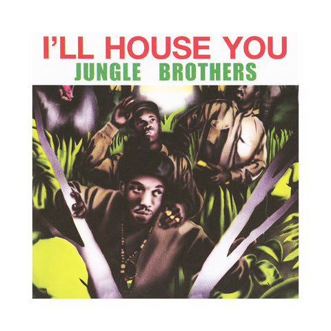 "[""Jungle Brothers - 'I'll House You/ On The Run' [(Black) 7\"" Vinyl Single]""]"