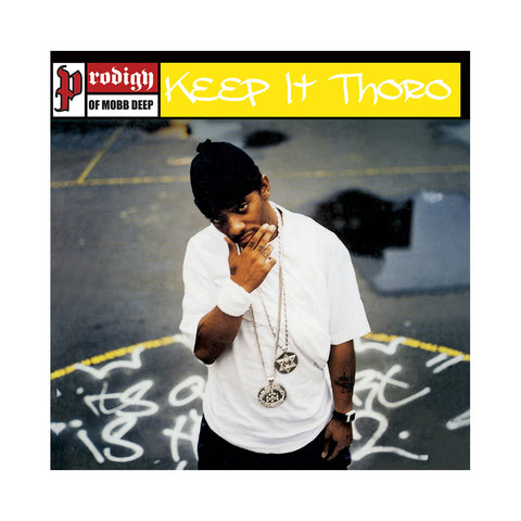 "[""Prodigy - 'Keep It Thoro' [(Black) 7\"" Vinyl Single]""]"