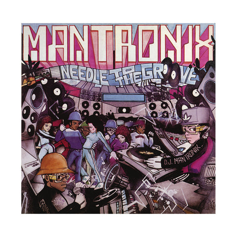 "[""Mantronix - 'Needle To The Groove/ Fresh Is The Word' [(Black) 7\"" Vinyl Single]""]"