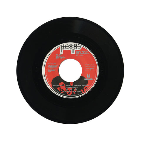 "[""Lyn Collins - 'We Want To Parrty, Parrty, Parrty/ You Can't Beat Two People In Love' [(Black) 7\"" Vinyl Single]""]"