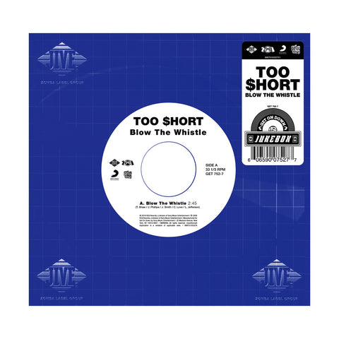 "Too $hort - 'Blow The Whistle' [(Black) 7"""" Vinyl Single]"