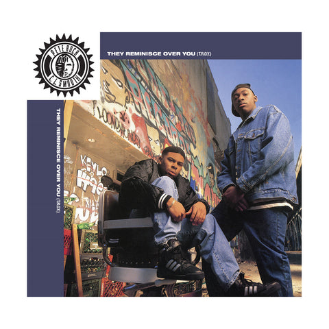 "Pete Rock & CL Smooth - 'They Reminisce Over You (T.R.O.Y.)/ Straighten It Out' [(Black) 7"""" Vinyl Single]"