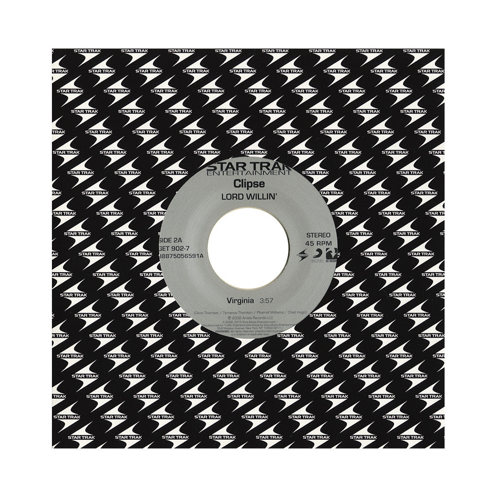 "Clipse - 'Virginia/ Grindin'' [(Hard White) 7"" Vinyl Single]"