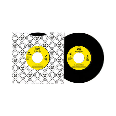 "[""Wu-Tang Clan - 'Method Man/ Protect Ya Neck' [(Black) 7\"" Vinyl Single]""]"