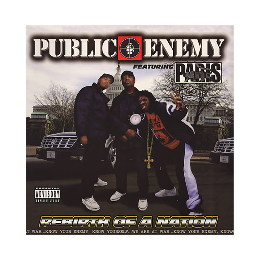 <!--020060307006519-->Public Enemy w/ Paris - 'Rebirth Of A Nation' [CD]