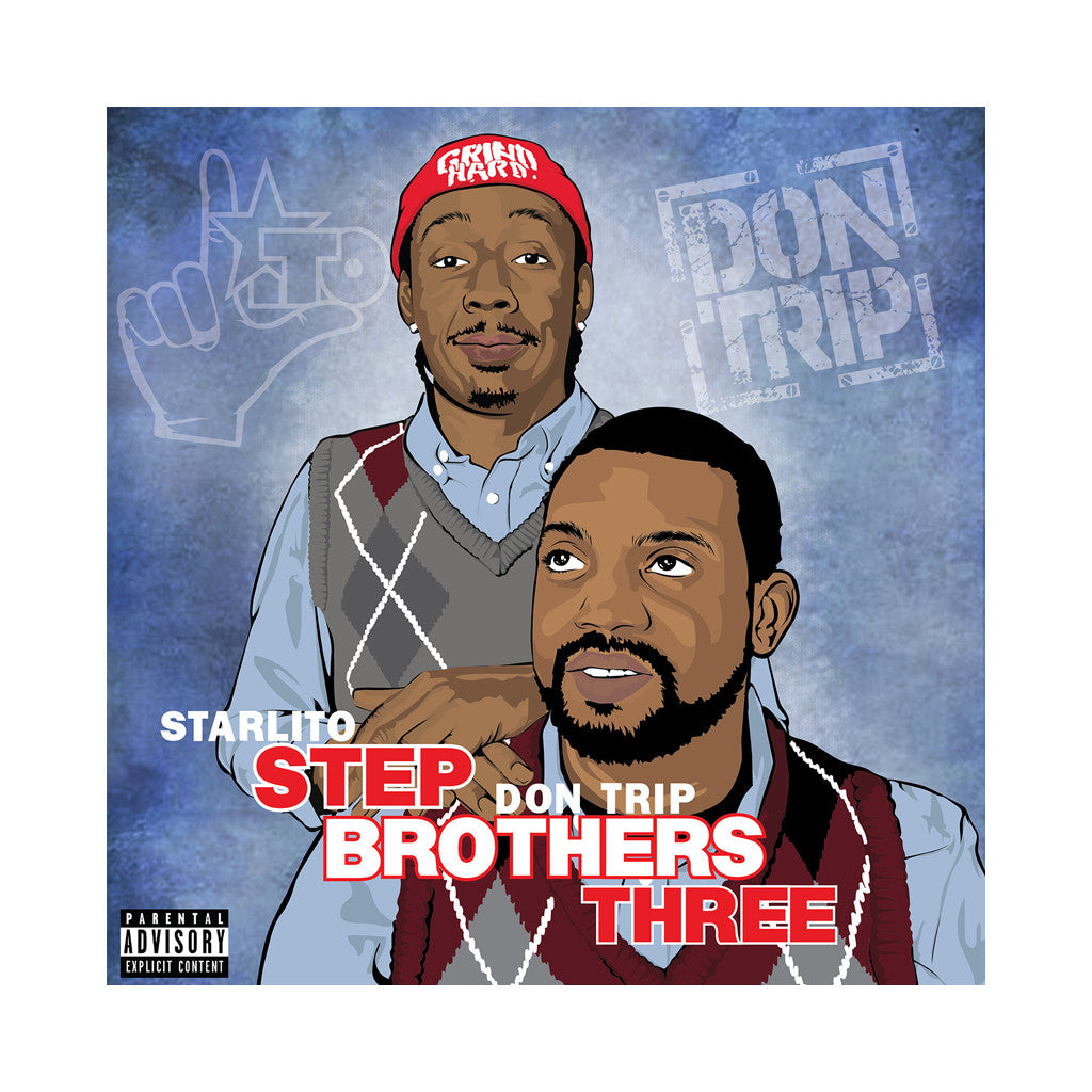 Starlito & Don Trip - 'Stepbrothers Three' [CD]