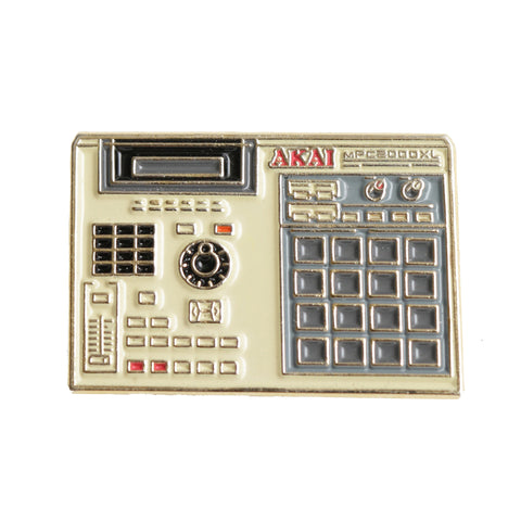 Good Hustle Company - 'Akai MPC 2000XL' [(Multi-Color) Pin]