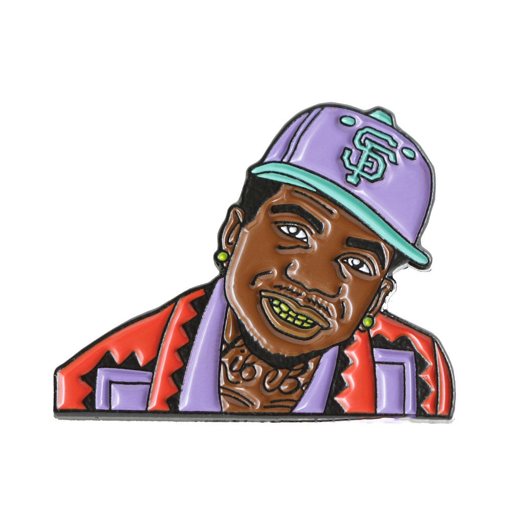 <!--020160826073977-->Good Hustle Company - 'Lil B (The Based God)' [(Multi-Color) Pin]