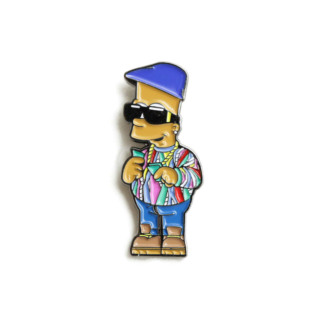 <!--120160826073975-->Good Hustle Company - 'Notorious Bart' [(Multi-Color) Pin]